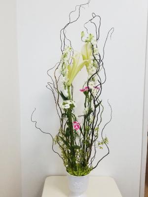 ホッホフリーセント,Flower Drops コースⅡ,東京,自由が丘,フラワーアレンジメント教室,フラワードロップス