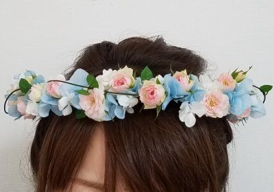髪飾り,ブライダルレッスン,東京,自由が丘,フラワーアレンジメント教室,フラワードロップス