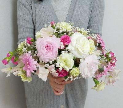 クレッセントブーケ,Flower Drops コースⅢ,東京,自由が丘,フラワーアレンジメント教室,フラワードロップス