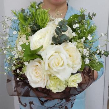 特別レッスンの花束,特別レッスン,東京,自由が丘,フラワーアレンジメント教室,フラワードロップス