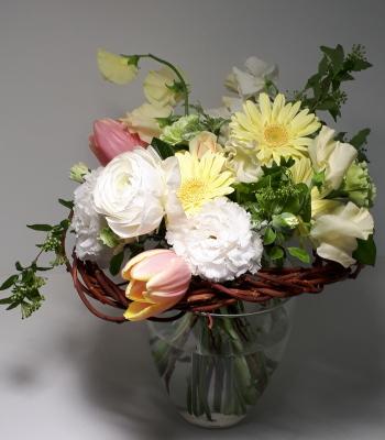 枝で作る花束,Flower Drops コースⅢ,東京,自由が丘,フラワーアレンジメント,フラワースクール,フラワー教室,フラワードロップス