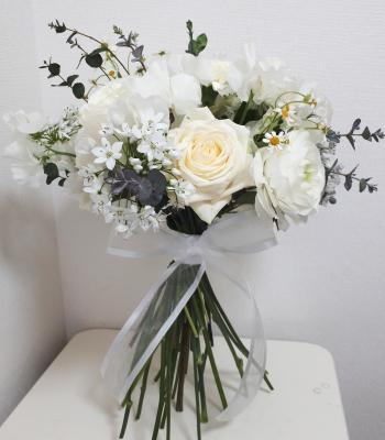 花嫁の花束,Flower Drops コースⅡ,東京,自由が丘,フラワーアレンジメント,フラワースクール,フラワー教室,フラワードロップス