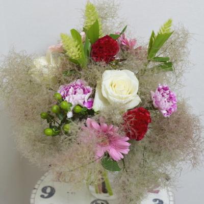パリスタイルの花束Ⅰ,Flower Drops コースⅠ,東京,自由が丘,フラワーアレンジメント,フラワースクール,フラワー教室,フラワードロップス