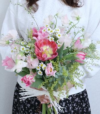 花嫁の花束,ウエディングフラワーコース,東京,自由が丘,フラワーアレンジメント,フラワースクール,フラワー教室,フラワードロップス