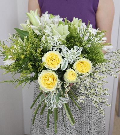 グリーンスタイルの花束,Flower Drops コースⅢ,東京,自由が丘,フラワーアレンジメント,フラワースクール,フラワー教室,フラワードロップス