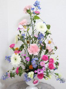 トライアンギュラーⅢ,Flower Drops コースⅢ,東京,自由が丘,フラワーアレンジメント,フラワースクール,フラワー教室,フラワードロップス