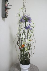 ホッホフリーセント,作品その3,Flower Drops コースⅡ,東京,自由が丘,フラワーアレンジメント,フラワースクール,フラワー教室,フラワードロップス