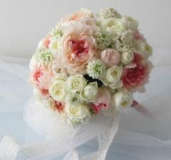 花嫁のためのブーケ|東京|自由が丘|フラワーアレンジメント教室|フラワードロップス