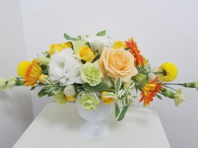 ホリゾンタル,もう一つの作品,Flower Drops コースⅠ,東京,自由が丘,フラワーアレンジメント教室,フラワードロップス