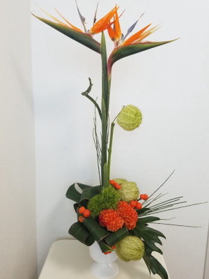 グリーン・グリーン,Flower Drops コースⅡ,東京,自由が丘,フラワーアレンジメント,フラワースクール,フラワー教室