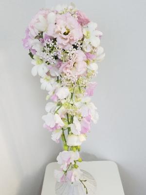 キャスケードブーケ,Flower Drops コースⅡ,東京,自由が丘,フラワーアレンジメント,教室,フラワードロップス