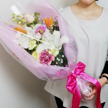贈答用の花束,Flower Drops コースⅠ,東京,自由が丘,フラワーアレンジメント,教室,フラワードロップス