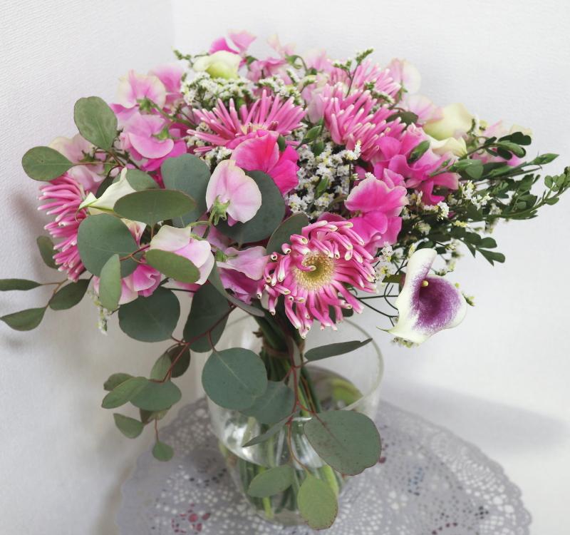パリスタイルの花束,Flower Drops コースⅠ,東京,自由が丘,フラワーアレンジメント,フラワースクール,フラワー教室,フラワードロップス