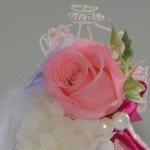 ウェディングドールアレンジ-プリザーブドフラワーアレンジメント-東京・自由が丘のフラワーアレンジメント教室|フラワードロップス