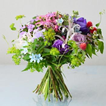 ルントシュトラウス-Flower-Drops コースⅠ・10月のテーマ|東京・自由が丘のフラワーアレンジメント教室|フラワードロップス