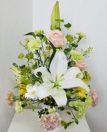 トライアンギュラー,Flower Drops コースⅠ,東京,自由が丘,フラワーアレンジメント,教室,フラワードロップス